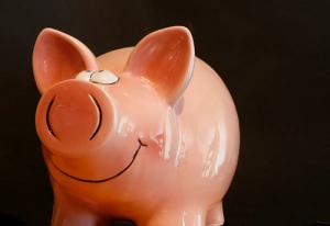 Piggy Bank by Alan Cleaver