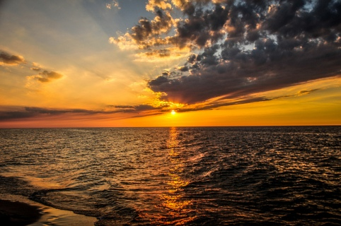 Sunset by Kamil Porembiński